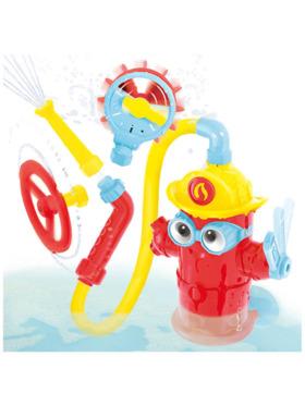 Yookidoo Ready Freddy - Fire Hydrant Baby Bath Toy