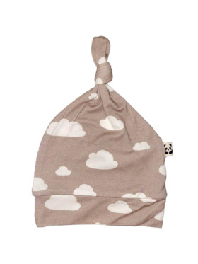 Bamberry Baby Cloud Knotted Hat (for Cloud Zippered Footed Romper)