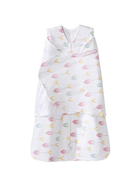 Halo Pink Arrows Swaddle