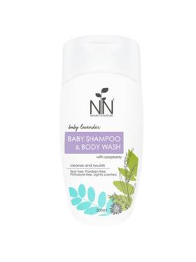 Nature to Nurture Baby Lavender Baby Shampoo & Body Wash (200ml)