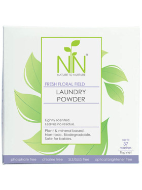 Nature to Nurture Fresh Floral Field Laundry Powder (1kg)