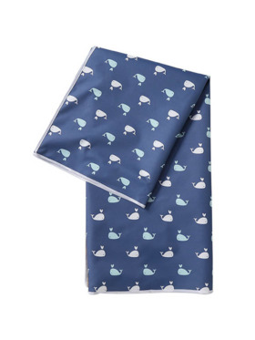 Olive and Cloud Whales Olive and Cloud Splash Mat