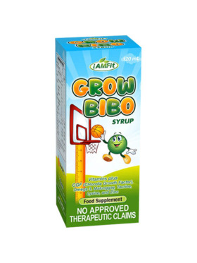 iAMFit Grow Bibo Multivitamins Syrup for Kids