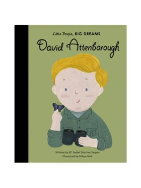 Little People, Big Dreams Life of David Attenborough