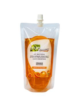 True Protect Orange Antibacterial Dishwashing Liquid Refill (500ml)
