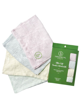 Swaddies PH Ultra Soft Bamboo Washcloth