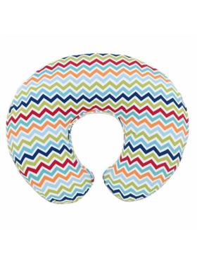 Boppy Colorful Chev Pillow/CTN Slipcover