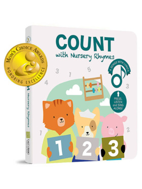 Cali's Book Count with Nursery Rhymes Musical Book