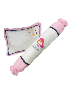 Kozy Blankie Little Mermaid Toddler Bolster and Pillow Set
