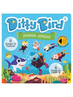 Ditty Bird Musical Book - Animal Songs
