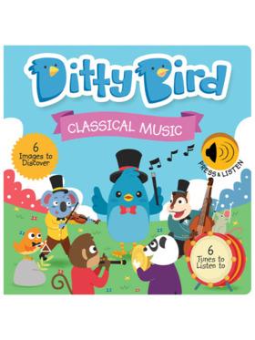 Ditty Bird Musical Book - Classical Music
