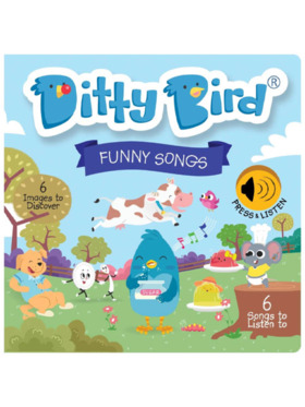 Ditty Bird Musical Book - Funny Songs