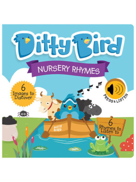 Ditty Bird Musical Book - Nursery Rhymes