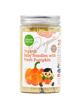 Simply Natural Organic Baby Noodles - Pumpkin (200g)