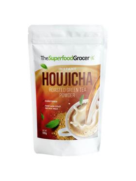 The Superfood Grocer Premium Instant Houjicha (Roasted Green Tea) Tea Drink (25 servings)