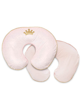 Boppy Princess Pillow with Cotton Slipcover