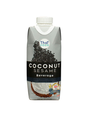 Thai Coco Sesame Coconut Beverage (330ml)