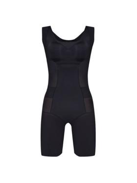 Adam & Eve Shapewear Sleeveless Bodysuit with Anion Energy Stones