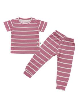 Bamberry Baby Stripes Bamboo PJ Short Sleeve