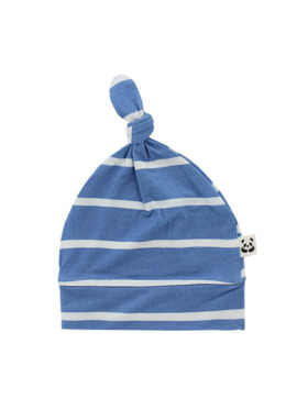 Bamberry Baby Stripes Knotted Hat (For Stripes Zippered Romper)