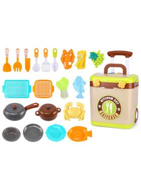 The Happy Fox Suitcase Kitchen Set