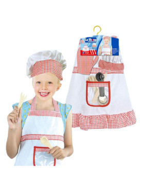 Le Sheng Chef Pretend Play Costume (Girl)