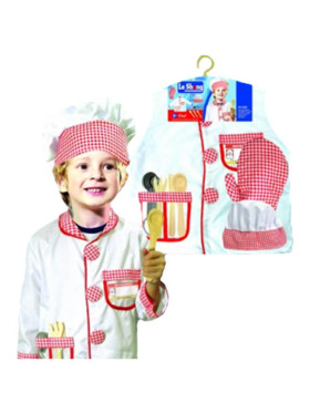 Le Sheng Chef Pretend Play Costume