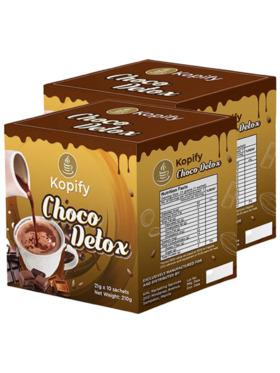 Kopify Choco Detox 20 in 1 Slimming and Whitening (Bundle of 2)