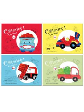 Crafty Kids Coloring Book Set