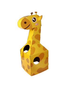 Crafty Kids Giraffe DIY Wearable Cardboard Costume
