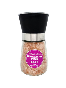 Philippine Pure Himalayan Pink Salt Grinder (200g)