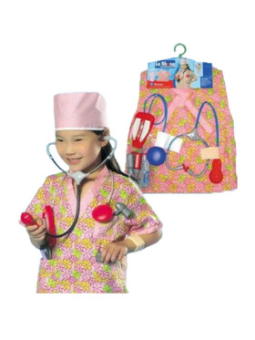 Le Sheng Nurse Pretend Play Costume