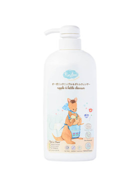 Kindee Organic Nipple and Bottle Cleanser (500ml)