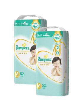 Pampers Premium Care Taped Medium 2-Pack (2 x 52pcs) - Subscription