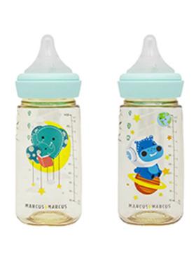 Marcus & Marcus PPSU Transition Feeding Bottle Twinpack (300ml)