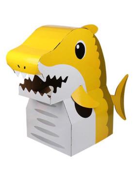 Crafty Kids Shark DIY Wearable Cardboard Costume