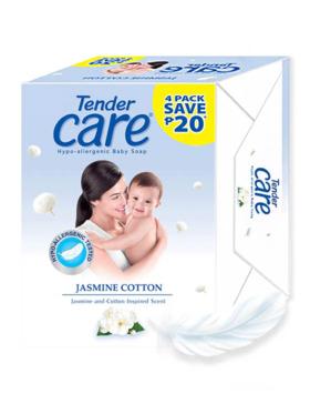 Tender Care Jasmine Baby Soap 65g (Pack of 4)