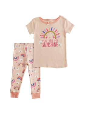 Little Steps 2-Piece Short Sleeves Sunshine PJs