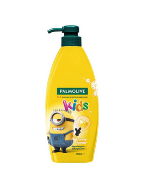 Palmolive Kids 3-in-1 Shampoo, Body Wash and Conditioner Funny Honey (700ml)