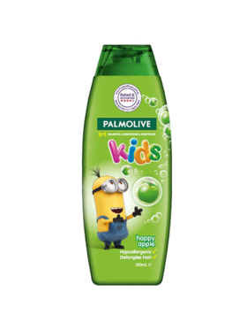 Palmolive Kids 3-in-1 Shampoo, Body Wash and Conditioner Happy Apple (350ml)
