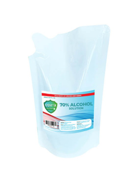 COV-X 70% Ethyl Alcohol Refill Pack (500ml)