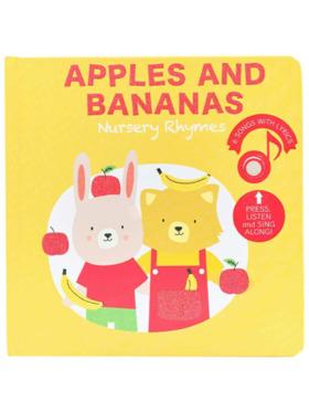 Cali's Book Apples and Bananas Musical Book