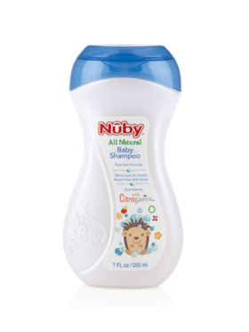 Nuby Citroganix All Natural Baby Shampoo (200ml)