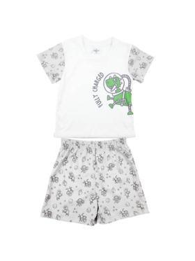 Looms Clay Collection T-Shirt and Shorts Terno Set