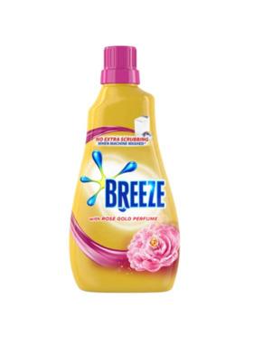 Breeze Liquid Detergent With Rose Gold Perfume (980ml)