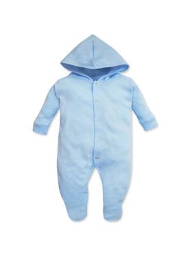 Cotton Stuff Long Sleeve Sleeper with Hood