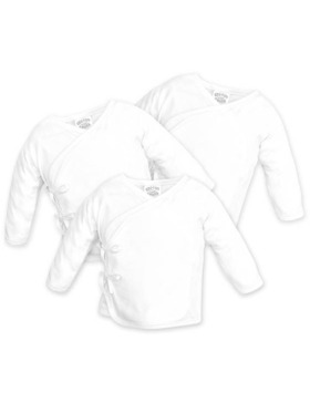 Cotton Stuff Long Sleeve Tie-Side (3pcs)