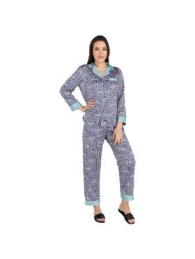 Amelia Sleepwear Nola Silk Pants Pajamas Set