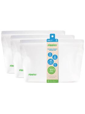 Zippies Original Reusable Stand-up Pouch XXL (Bundle of 3)