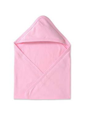Cotton Stuff Receiving Blanket with Hood